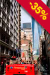 NYC, Bus Hop On-Hop Off e Traghetto, 48 ore