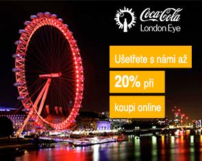 09fbe976ea0 Vstupenky na Coca-Cola Londýnské oko