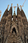 Tickets to Barcelona och Gaudi
