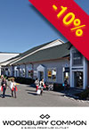 Shopping all'outlet di Woodbury - trasporto incluso
