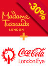 2-i-1: Madame Tussauds & London Eye