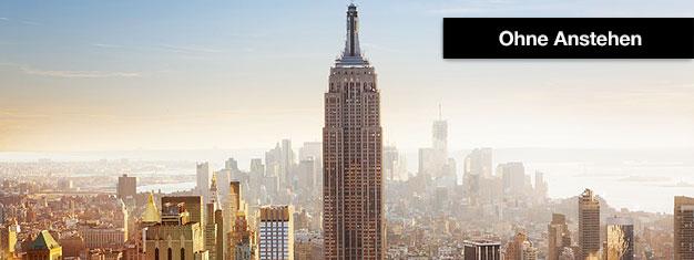 Keine Warteschlangen in New York