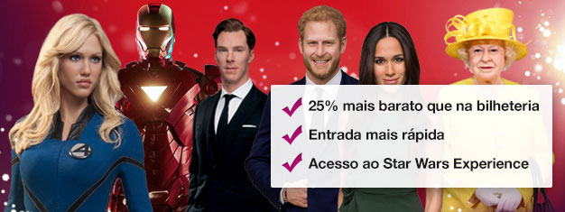 Madame Tussauds e mais