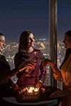 Burj Khalifa: Sunset with champagne and access to the top