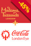 Oferta pakietowa 2 w 1: Madame Tussauds i London Eye