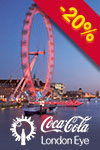 Tickets to The Coca Cola London Eye