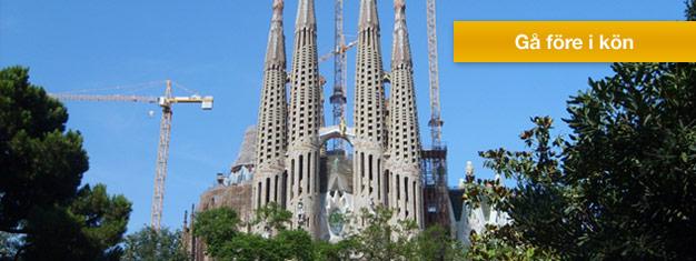 Boka biljetter till Sagrada Familia, Park Güell, Casa Batlló och Casa Milà