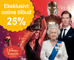 Billetter til Madame Tussauds London