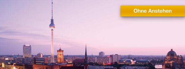Tickets buchen für Berliner Fernsehturm