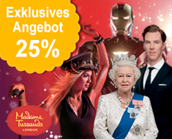 Tickets für Madame Tussauds London: Flexibles Ticket