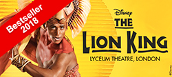 تذاكر لـ ليون كنج The Lion King