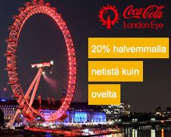Lippuja London Eye