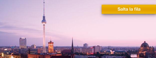Prenotazione biglietti per Berlino TV Tower