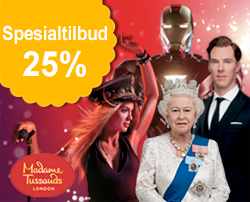 Billetter til Madame Tussauds London: Fleksible billetter