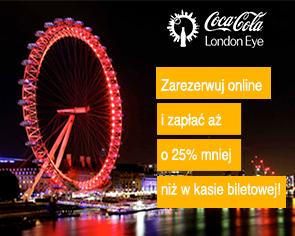 Bilety London Eye: bilet elastyczny