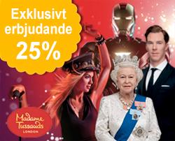Biljetter till Madame Tussauds London