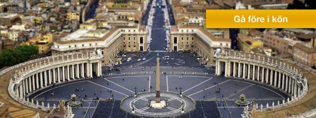 Boka biljetter till Vatikanen
