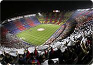 Camp Nou fotbollsarena i Barcelona, LondonFotboll.se