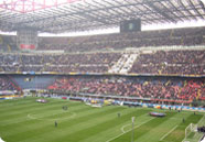 Informace o místě Stadio San Siro Meazza. ItalskyFotbal.cz