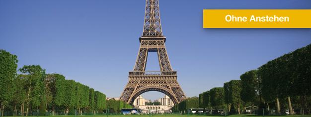 Tickets buchen für Eiffelturm