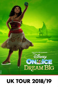 Disney On Ice Dream Big O2
