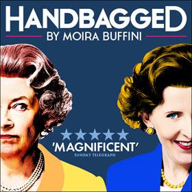 Handbagged i London's West End er en ny, morsom og varm komedie. Bestil billetter til Handbagged i London's West End her!