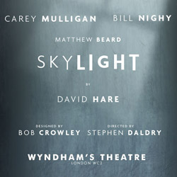 Skylight in London has won a Laurence Olivier Award for Best Play and stars Bill Nighy in the leading role. Book your tickets for Skylight in London here!
