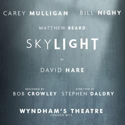 Skylight i London har bl.a. vundet en Laurence Olivier Award for bedste drama, og har Bill Nighy i hovedrollen. Bestil billetter til Skylight i London her!