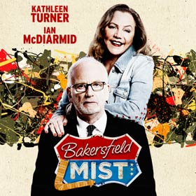 Bakersfield Mist in London is a drama with Kathleen Turner and Ian McDiarmid in the leading roles. Book tickets for Bakersfield Mist in London here!