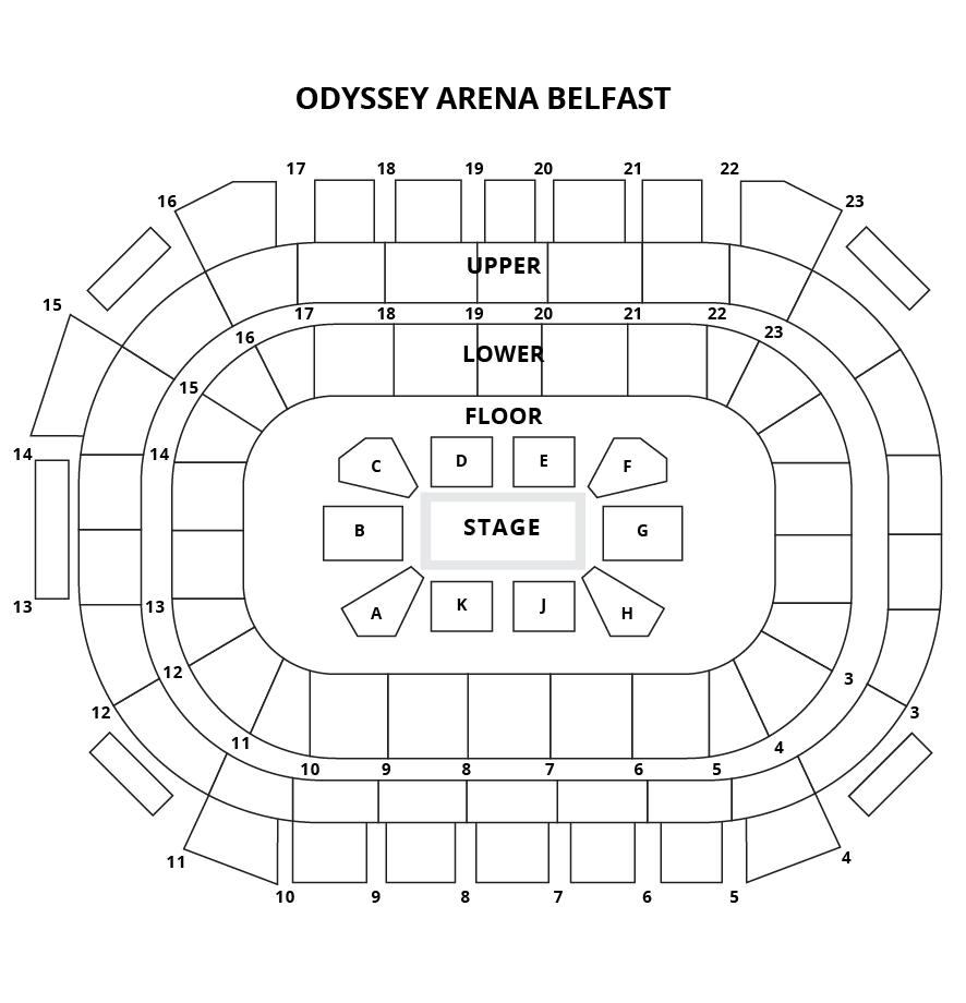 Odyssey Arena, Belfast