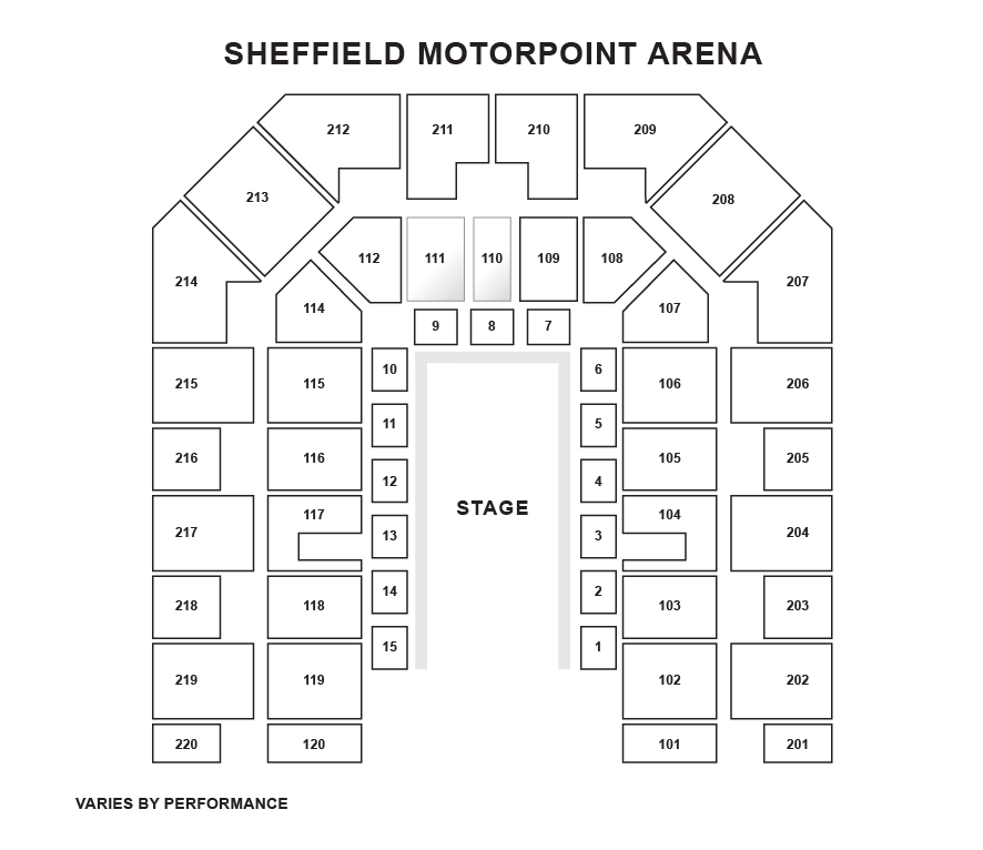 DSA Sheffield Arena