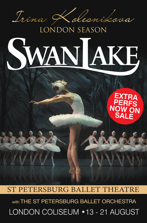 Irina Kolesnikova London Season: Swan Lake