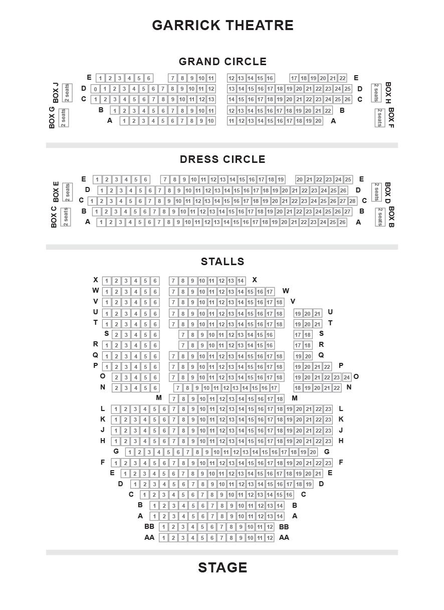 Garrick Theatre (Branagh Theatre)