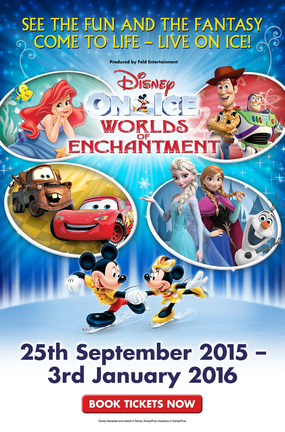 Disney On Ice Presents World's of Enchantment: Sheffield