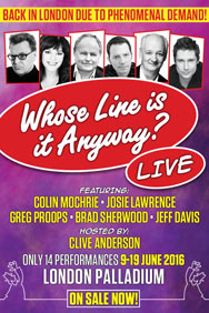 Whose Line Is It Anyway?... Live