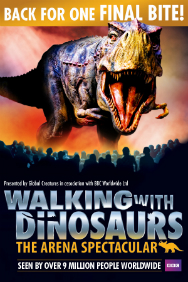 Walking with Dinosaurs: Estadio de Wembley
