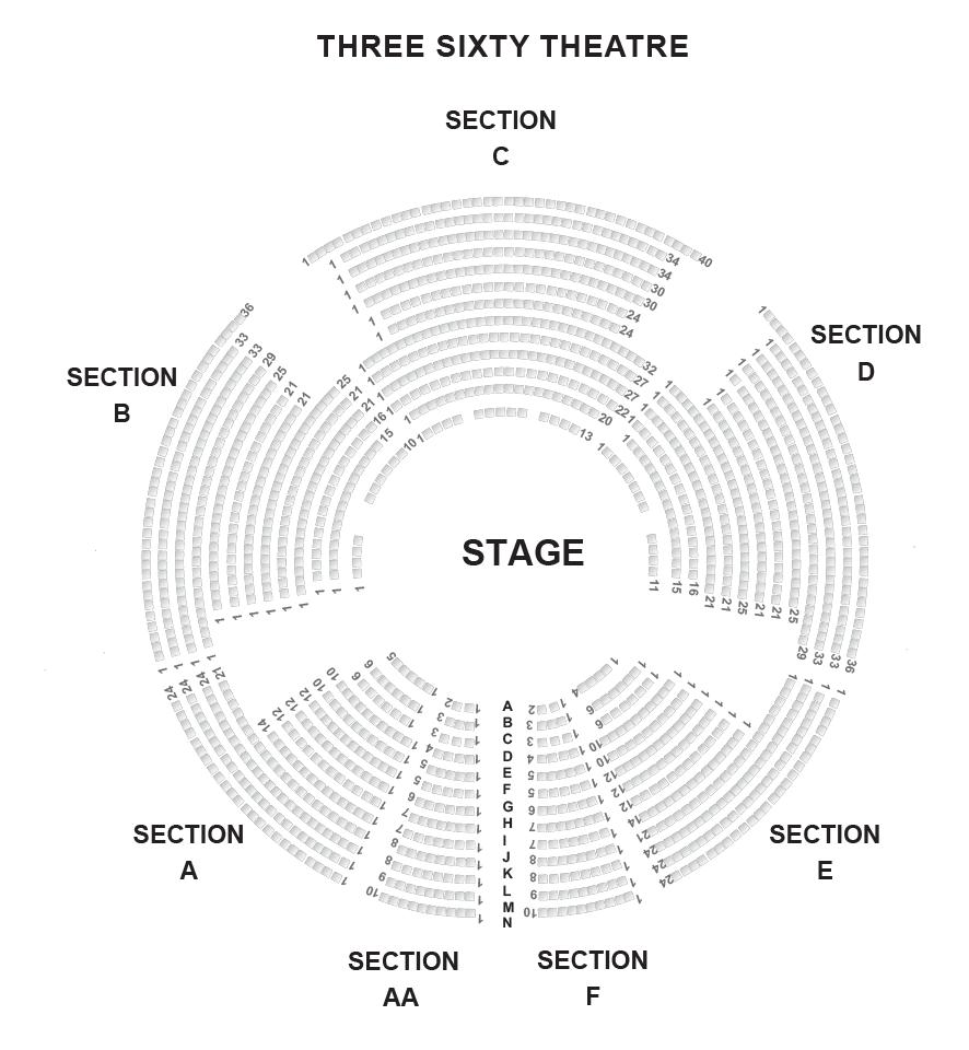 The threesixty Theatre, Kensington Gardens