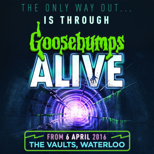 The gruesome imagination of R.L. Stine's Goosebumps is yours to explore, adventurer. Book tickets for Goosebumps Alive in London here!