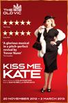 Biljetter till musikalen Kiss Me Kate, i regi av Trevor Nunn, på The Old Vic i London, West End. Köp dina biljetter till Broadway klassikern Kiss Me Kate här!