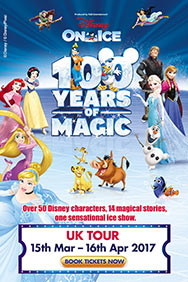 Disney On Ice 100 Years - Cardiff