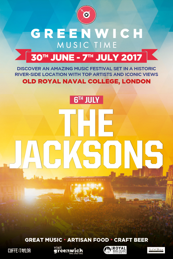 The Jacksons at Greenwich Music Time