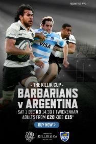Barbarians V Argentina
