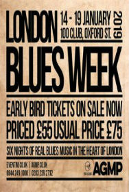 London Blues Week 2019