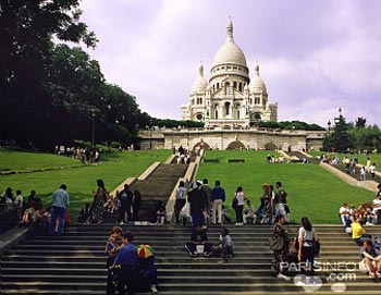 Montmartre and Louvre
