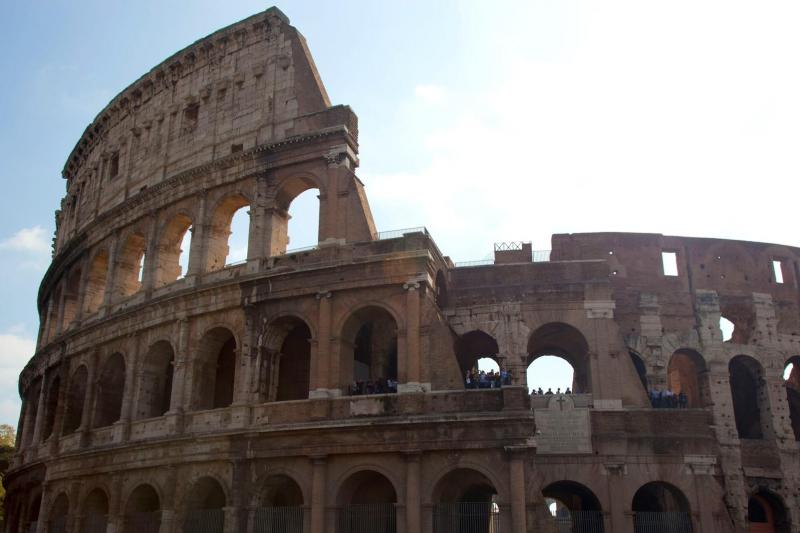 Coliseo y Tour de Antigua Roma
