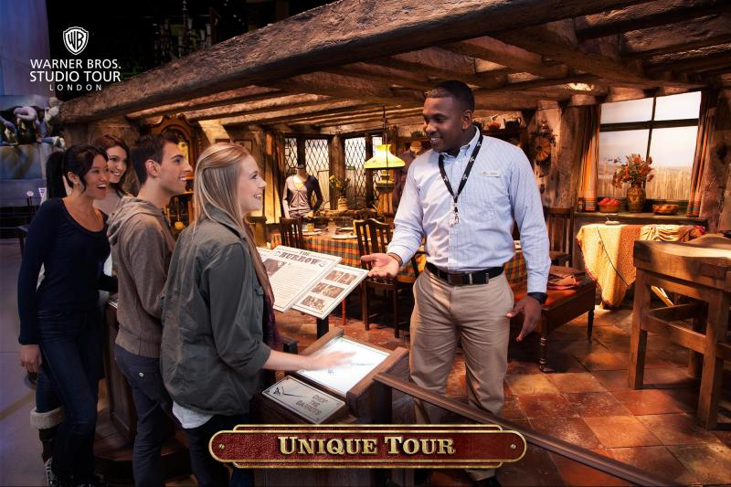 Unik guidet Warner Bros. Studio Tour London – Produksjonen av Harry Potter