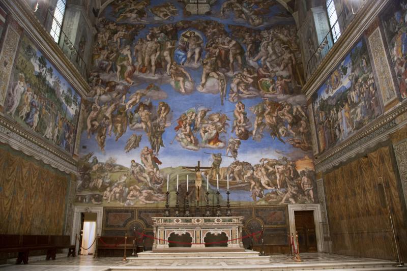 Vatikanet og det Sixtinske Kapel, ekspres indgang