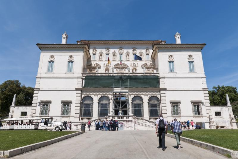Guided tour at the Borghese Gallery