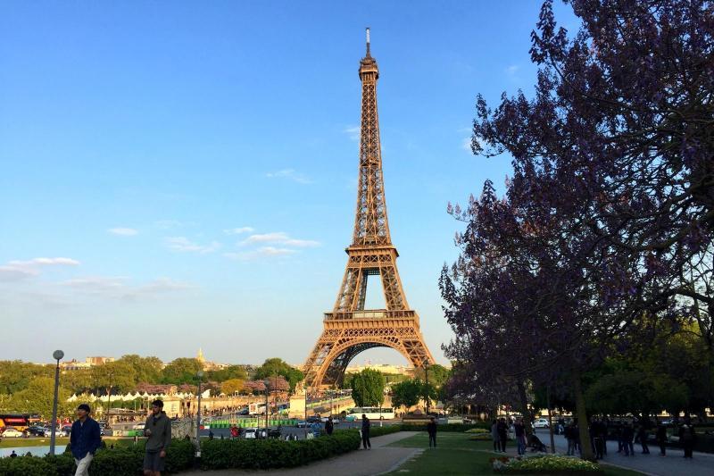 Gåtur i Eiffeltårnet