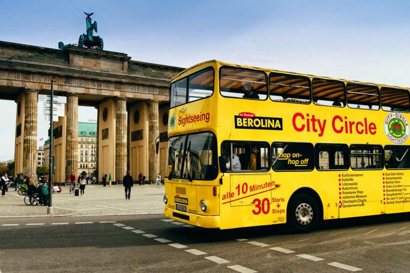 Hop-On Hop-Off Berlin: 1 dia